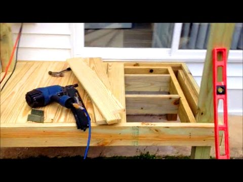 Building A Small Deck Diy Tips
