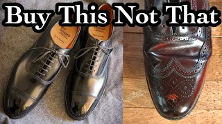 AVOID THIS LEATHER! BUYING LEMONS & A PROPER USED SHOE RESTORATION
