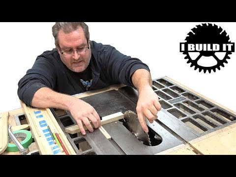 Table Saw Basics - Alignment Of Blade And Fence