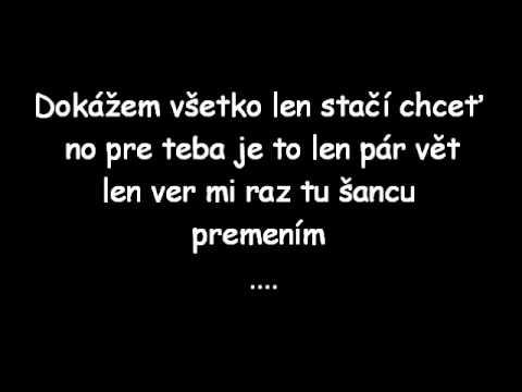 Tomáš Botlo - Viem čo chcem Text
