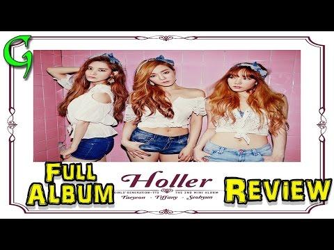 TTS (TaeTiSeo) - Holler Full Kpop Album Review 1080p HD