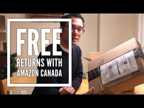 How To Return Your Amazon Purchase For Free (Canadian- 2017)