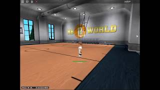Being stephen curry at Roblox Vd - RB world 2