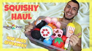 SQUISHY HAUL HAPPY2SHOP 40K SUBS 180€ GIVEAWAY | Tsede The Real