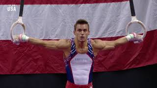 Sam Mikulak On Rings | Champions Series Presented By Xfinity