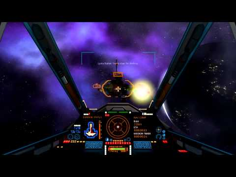 Eterium – Indie Space Combat Game – Channeling The Spirit of Wing Commander