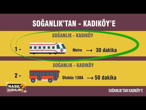 Nasıl Gidilir? | Soğanlık'tan Kadıköy'e