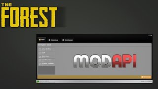 MODapi Tutorial! - The Forest - v.0.71b - [2018/GERMAN]