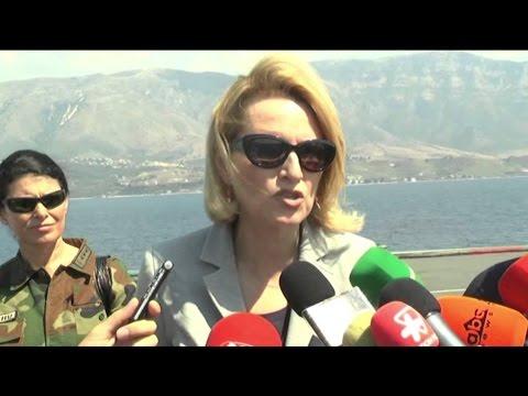 """A1 Report - Trageti """"Norma Atlantic"""" në rrezik  Marina shqiptare në operacion shpëtimi"""