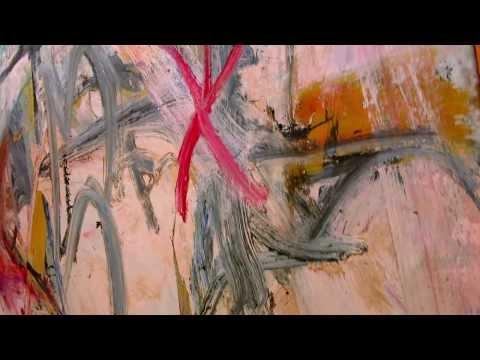 WILLEM DE KOONING Abstract Expressionism Original Oil Painting, Backyard DEKOONING, FINE ART
