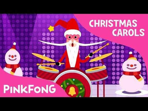 The Santa Band | Christmas Carols | Pinkfong Songs for Children