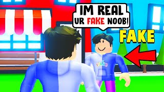 I found the FAKE fishyblox in Adopt Me..