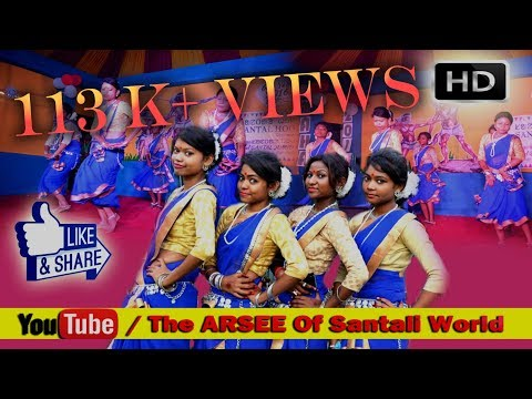 New Santali Video Hit HD || Aam do Unong em Hoylen se Stage Dance Cover By DGP Rusicaa Dance Grp.