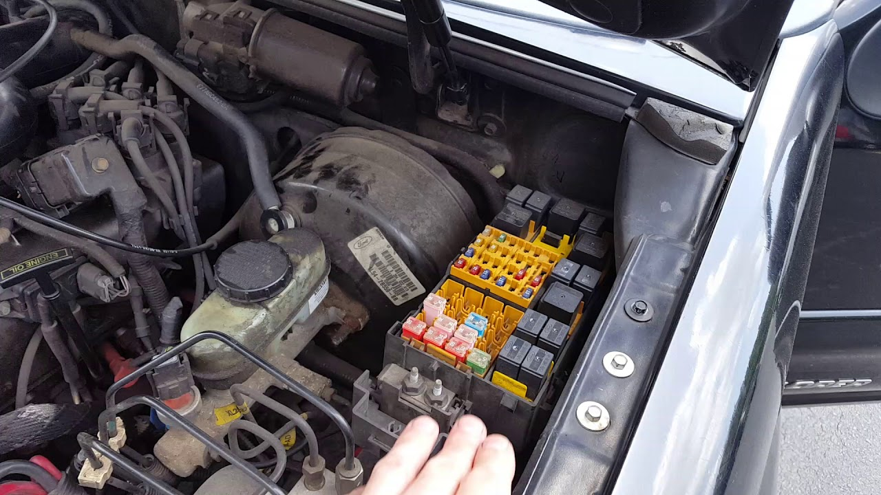 ford explorer sport trac ac clutch fuse and relay [ 1280 x 720 Pixel ]