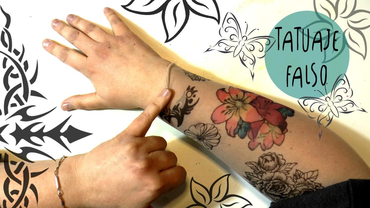 Tutorial Increible Tatuaje Que Parece Verdadero Con Marcadores