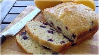How To Make Lemon Blueberry Bread
