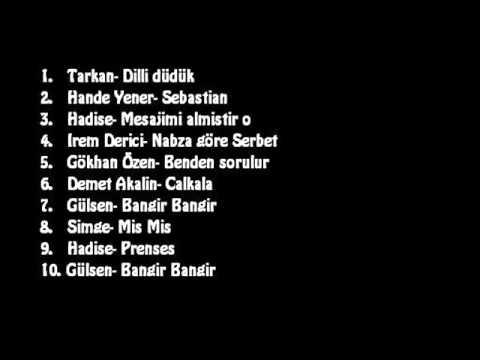 türkce pop mix  18 dakika 2015