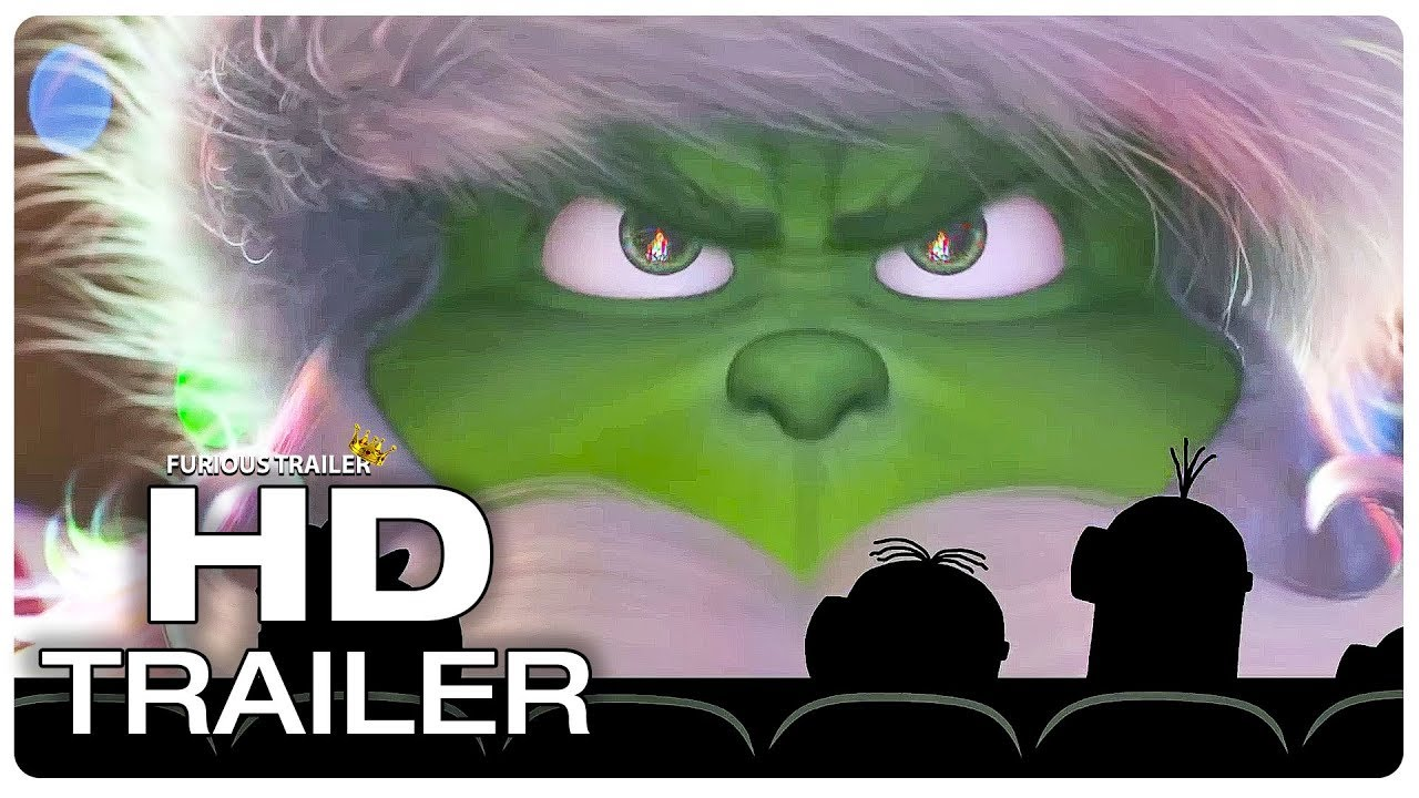 Download THE GRINCH Minions Watch Grinch Trailer (NEW 2018) Benedict Cumberbatch Animated Movie HD