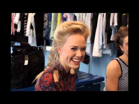 Gia in Style - Backstage - fashion show for Karen Millen Luxembourg