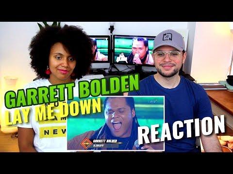 Garrett Bolden - Lay Me Down   The Clash   REACTION