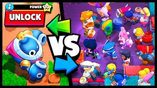 NEW! TICK vs ALL MAX BRAWLERS - Brawl Stars 1v1 Battle Highlights