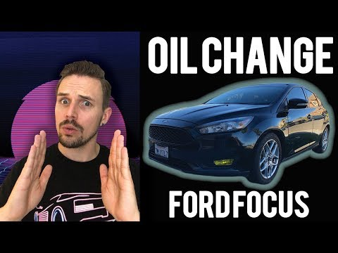 How To Change Your Engine Oil 2015 Ford Focus Se Youtube