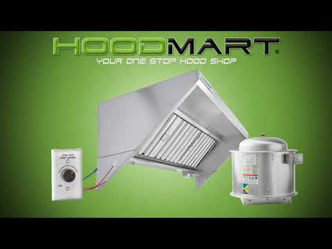 HoodMart.com Food Truck And Concession Trailer Exhaust Hood Packages