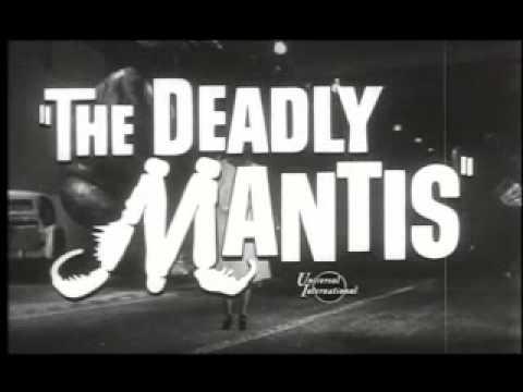 The Deadly Mantis - Movie Trailer