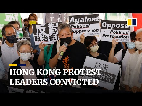 US slams China after Hong Kong convicts Jimmy Lai, Martin Lee and five other protest leaders
