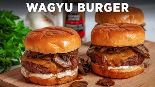 Cheese-Stuffed Wagyu Burger