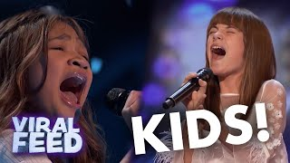 Download MOST INCREDIBLE KID SINGERS| VIRAL FEED