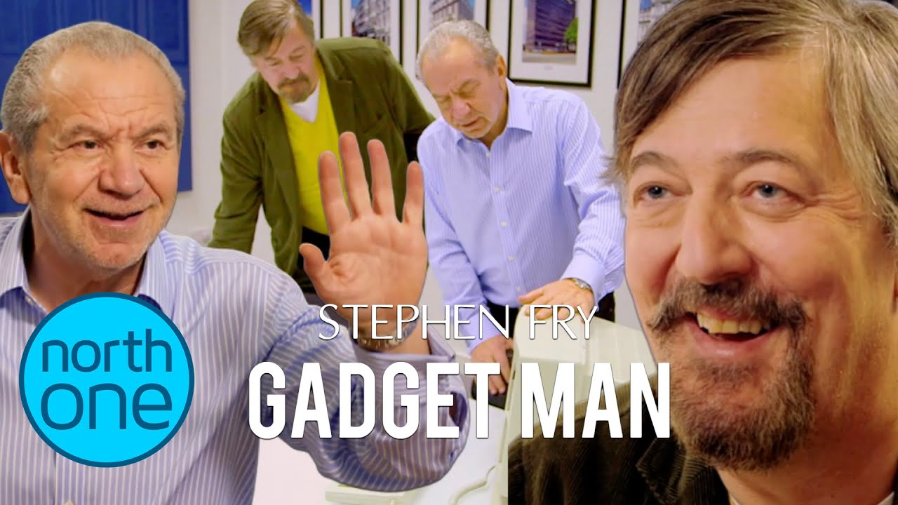 Lord Sugar shows Stephen Fry the Amstrad archives | Gadget Man