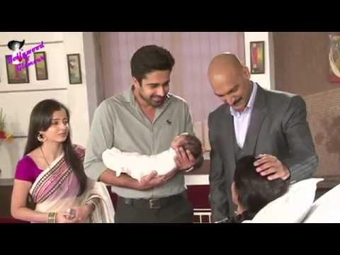 On Location Of TV Serial 'Iss Pyaar Ko Kya Naam Doo'  Jyoti has a Baby,Family is Happy