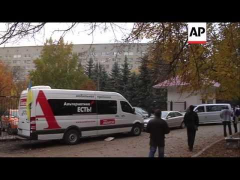 Lawyer visits jailed leader as EU presents report on Ukraine