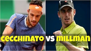 Marco Cecchinato vs John Millman | FINAL Budapest 2018 Highlights