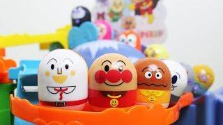 アンパンマン おもちゃ【さわって遊んで】キャラクターたくさん コロロンパーク ANPANMAN thumbnail
