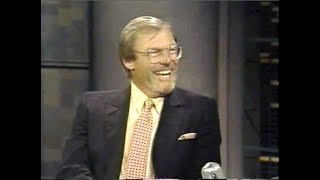 Adam West on Late Night, July 25, 26, 1991
