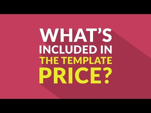 What's Included In The Joomla Template Price?