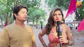bhojpuri film sanam hmar hau   निशा दुबे   सनम हमार हऊ   on location shoot