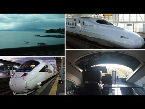 Hiroshima to Nagasaki by shinkansen & limited express