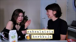 maistellaan saksalaisia herkkuja! ft. Marja   Saara Daniela