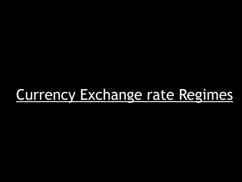 Economy for UPSC - Lecture 13.2 - Currency Regime, Fixed, Floating, REER, NEER