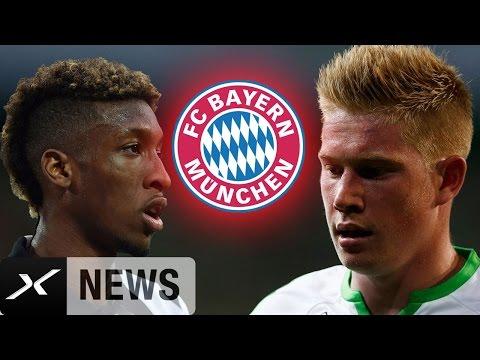 Kevin De Bruyne, Kingsley Coman, Dante! Frische FCB-Gerüchte | FC Bayern München