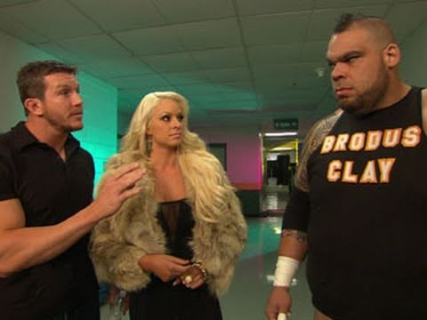 WWE NXT: Ted DiBiase & Maryse strategize with Brodus Clay