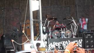 Alice Cooper - Guillotine at Sarnia Bayfest - July 14/2012