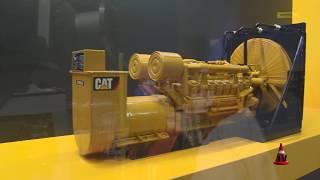 Argentina Oil & Gas 2015 - Stand de Finning-CAT - Generación Energía | Mercado Vial TV