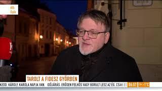 Dézsi Csaba András: ˝Győrben jó élni˝