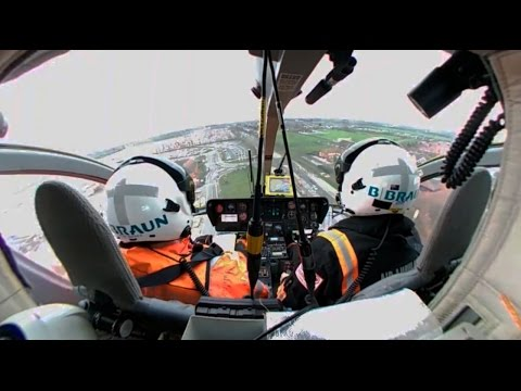 360º Video - Helimed 99 - Yorkshire Air Ambulance takeoff
