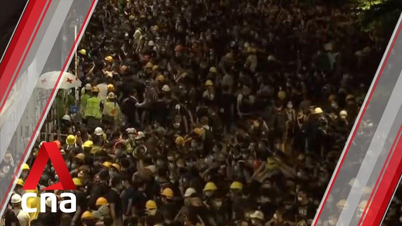 Hong Kong Protesters Storm Legislative Council On Anniversary Of Handover To China