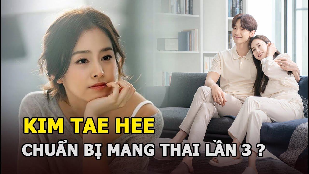 Kim Tae Hee mang thai lần 3, Bi Rain vui mừng thông báo trên trang cá nhân?